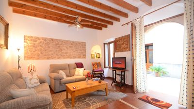 Photo for Charming traditional Mallorcan Eco-house in Alcúdia just 1 km from the beach