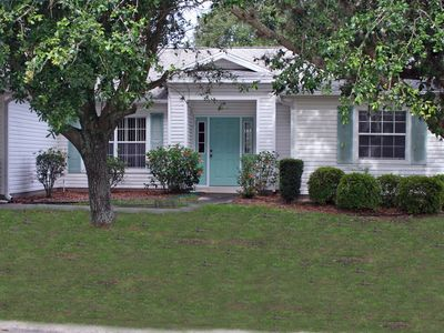 Photo for 3 Bed 2 Bath With A Pool at the Plantation Leesburg wifi and golf cart included