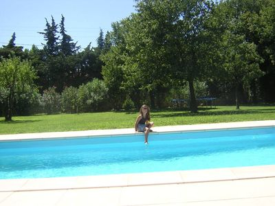 Photo for VILLA ON ONE LEVEL IN PROVENCE WITH PRIVATE SWIMMING POOL AND LARGE GARDEN