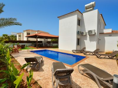 Photo for NISSI GOLD VILLA, 4 BED VILLA WITH PRIVATE POOL AND GARDEN AYIA NAPA