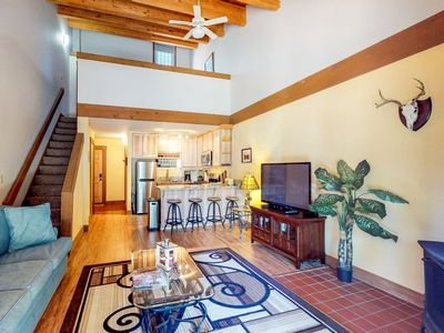 Photo for NEW LISTING! Condo w/ shared pools, hot tubs & tennis, close to golf and skiing