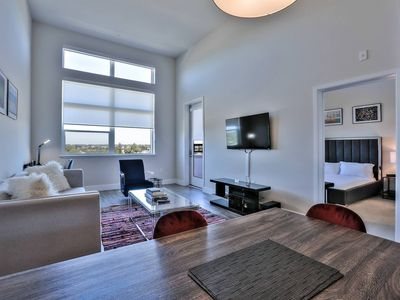 Photo for High-Ceiling Urban Flat in Heart of RWC w/ View