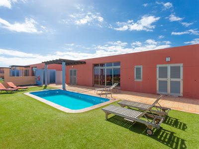 Photo for Villa Siesta: Large Heated Private Pool, Sea Views, WiFi