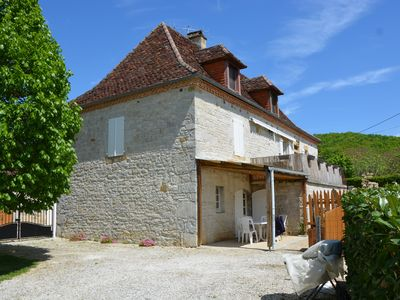 Photo for Cottage 6 people Dordogne Valley Lotoise swimming-pool