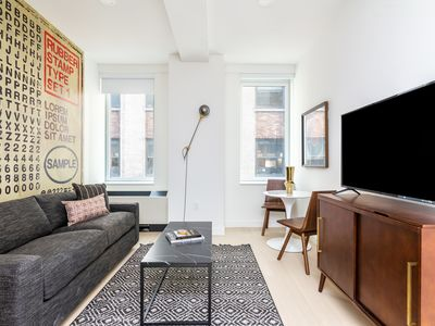 Photo for Sonder | Wall Street | Lively 1BR + Lounge