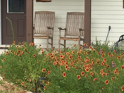 Front porch for relaxing!