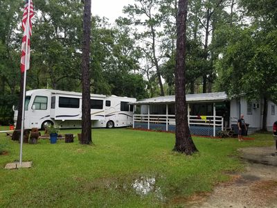 RV hookup available!