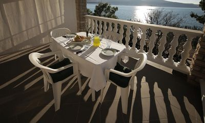 Photo for One bedroom apartment near beach Seline, Paklenica (A-6531-a)