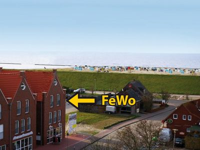 Photo for The 4 **** apartment - 1 to 4 persons is just 100 meters from the North Sea