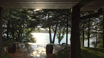 Photo for Minnestay* Lakefront Hideaway | Quiet and Serene Waterfront Cabin Getaway