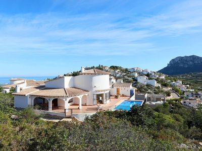 Photo for Beautiful private villa for 7 people with A/C, WIFI, private pool, TV, balcony and parking