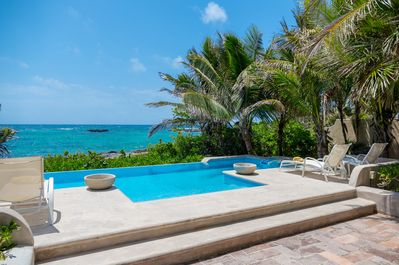 Las Vigas Akumal, Pool with Ocean Views