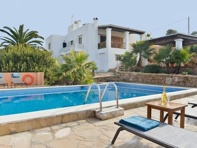Photo for Casa Vadella - Nice and Cosy House with Private Pool and Beautiful Sea Views ! - Free WiFi