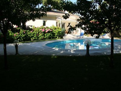 Photo for Very nice house type 4 with heated pool in a residential area