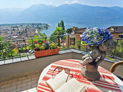 Photo for Apartment in the center of Ascona with Internet, Lift, Parking, Balcony (46861)