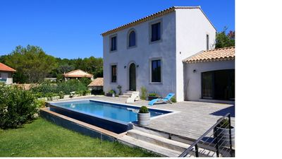 Photo for Charming house located in a beautiful village at the gateway to the Cevennes