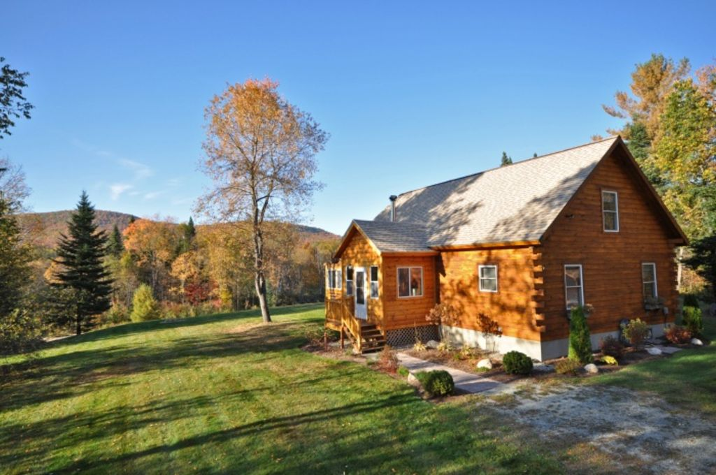 River 39 s bend cabin log home in the white mountains perfect for Perfect cabin