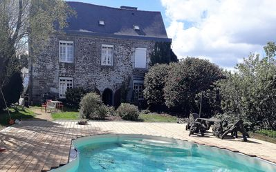 Photo for MASTER HOUSE IN THE CENTER OF BRITTANY