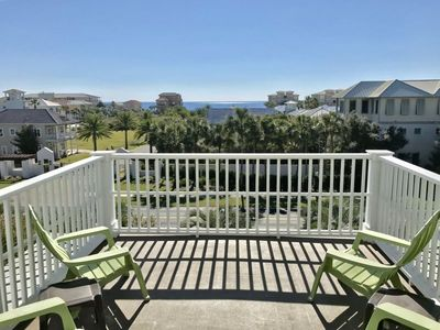 Photo for Gulf Views! - 4 Bikes - Beautiful Seacrest Home with Beach Chic Style - `No Regrets`