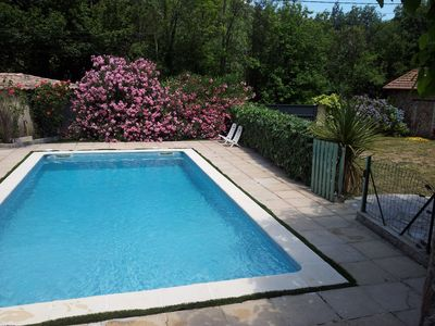 Photo for VILLA ARDECHE 4 pers. with garden and private pool