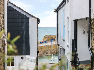 Photo for AMARRAH, MOUSEHOLE, romantic, with a garden in Mousehole, Ref 973591