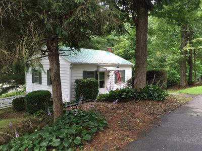Photo for Enchanting Cottage Nestled In The Trees Of Laurel Park