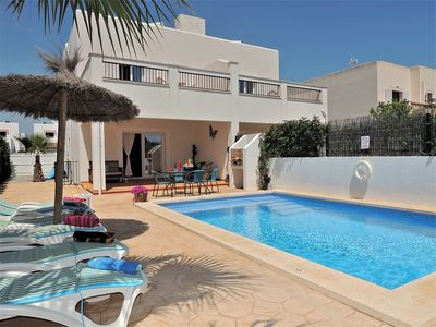 Photo for Beautiful and Brand New attached Villa with AC, Wifi and Private Heated Pool !!
