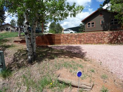 Photo for Remarkably updated Log Cabin across from the Library and Ute Pass History Park