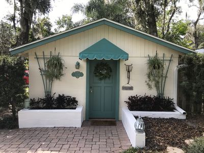 Photo for Quaint Private Cottage in Residential Mount Dora - 1 mile from down town