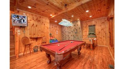 Photo for Most Unique Cabin in Smokies, Voted by Southern living Magazine! Gameroom+HotTub