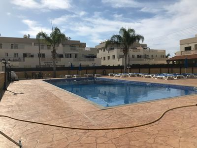 Photo for Two bedroom ground floor apartment with large communal pool in relaxing location