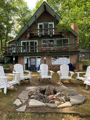 Spectacular Higgins Lake Front Home- Perfect for Families & Kids of all ages!