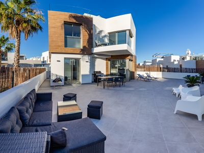 Photo for New Villa in Villamartin with 4 bedrooms and 3 bathrooms for rent!