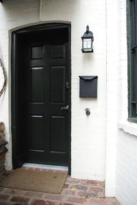Apartment entrance is totally separate from main house