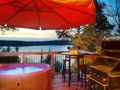 Photo for Eagles Nest -Couples Only Romantic Panoramic Lake View for 2 w/ Hot Tub
