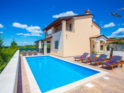 Photo for BEAUTIFUL VILLA WITH SWIMMING POOL, SPECTACULAR VIEW, BBQ, FREE WIFI