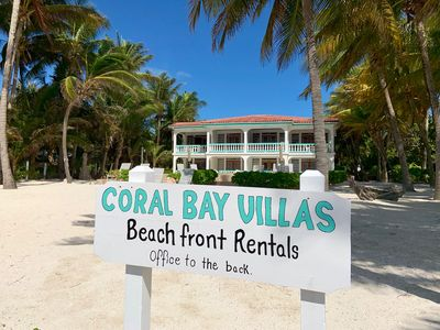 Photo for Coral Bay Villas Seahorse Suite - A Caribbean Beachfront Classic