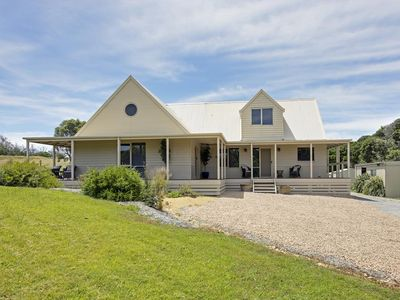 Photo for A country retreat with all the modern cons situated on 3.8 acres.
