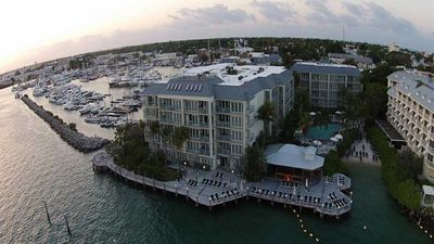 Photo for Galleon Resort - Balcony Overlooking Marina w/ Stair to Boardwalk, Sleeps 6