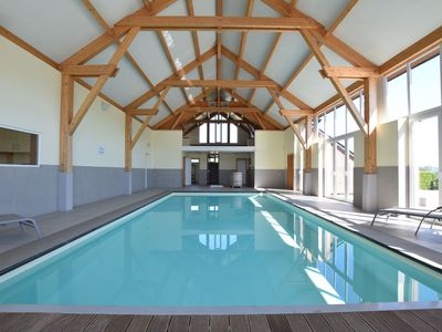 Photo for Contemporary House in Rendeux with Indoor Pool
