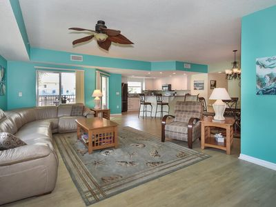 Photo for Stunning 3/2 Condo Across the street from the beach with great Ocean views. OW1-201