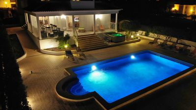 Photo for Stunning 5 suites,heatable pool and hot tub,games room, snooker, gym,near beach!