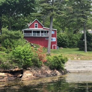 Photo for Oceanfront Cottage on Linekin Bay - Panoramic Ocean View