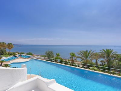 Photo for Sea Front Luxury Penthouse with large terraces
