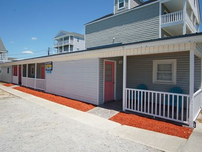 Photo for 2 By Sea, 6 BR Pet Friendly home across the street from the Ocean with Shared Pool and Hot Tub