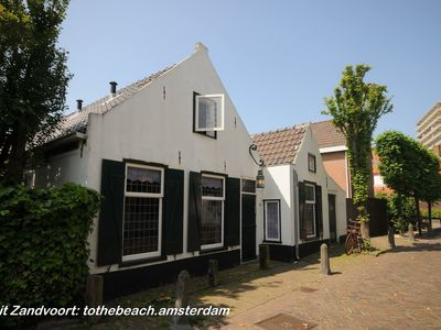 Photo for Beautiful authentic fisherman's house in the center of Zandvoort with parking for family