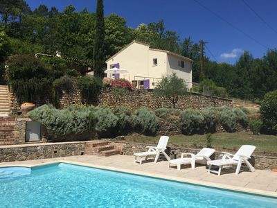 Photo for quiet house with private pool in the countryside (riverside)