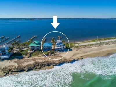 Photo for Twin Beaches:  8+BR/6BA ON the ocean/ON the river +Private Docks,Hot Tubs & More