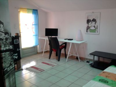 Photo for APARTMENT in DUPLEX, CALM, CENTRAL, for 2/3 people.