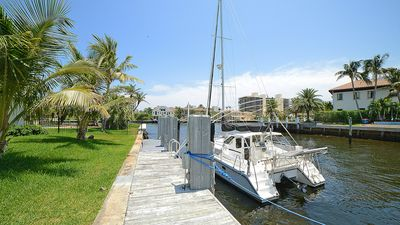 Photo for Tropical Point Lot Facing Direct Deep Water Intracoastal (East Delray Beach)!